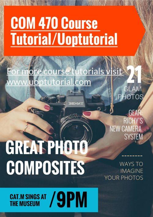 COM 470 Course Tutorial/Uoptutorial