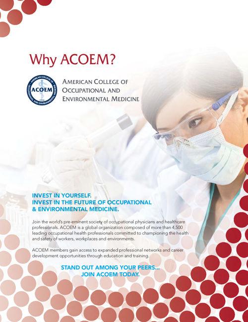 ACOEM Membership Brochure