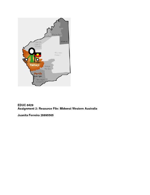 Aboriginal Resource File