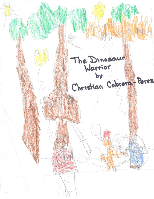 The Dinosaur Warrior by Christian Cabrera Perez