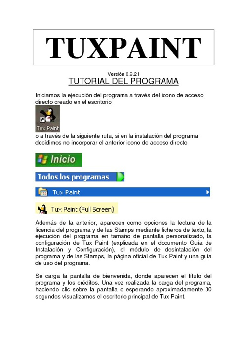 Tutorial de TuxPaint