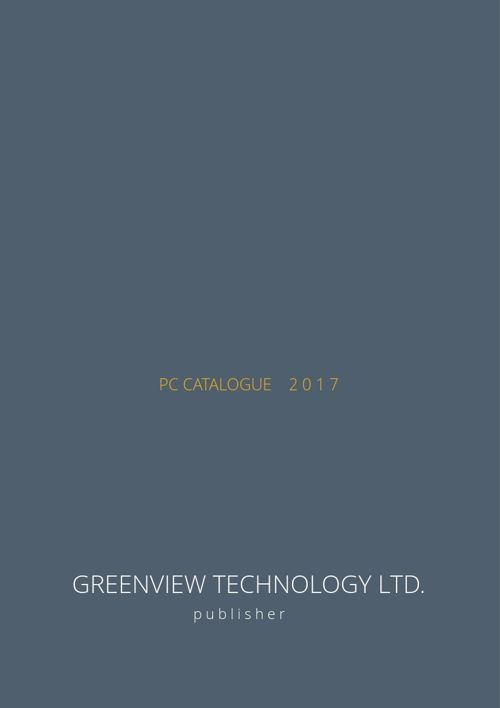 GreenView Technology PC catalogue 1/2017