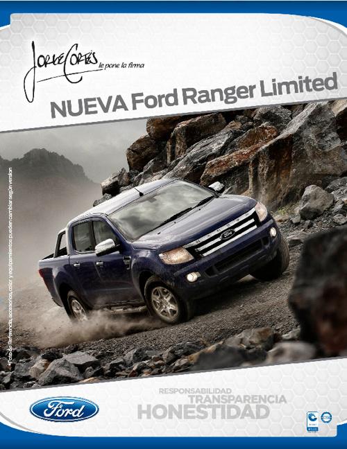 Ranger 4x4 Limited 2013