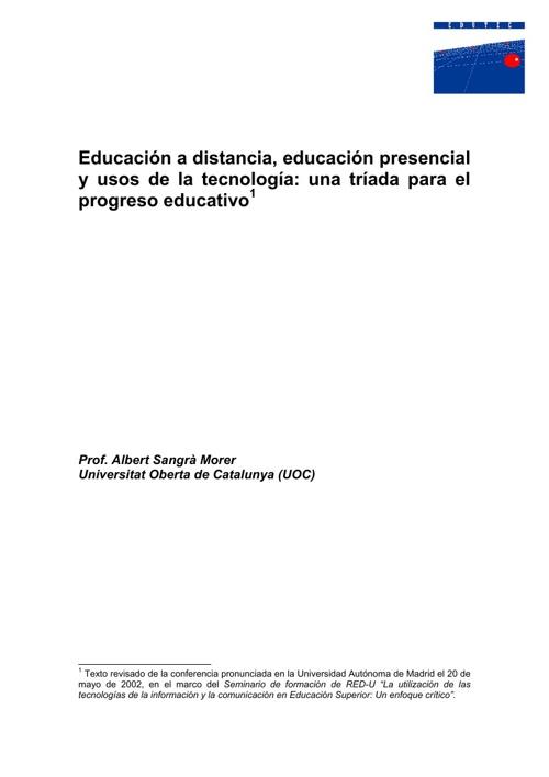 Educacion No presencial