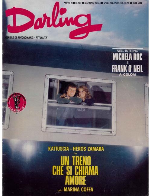DARLING N. 107 (1976) - UN TRENO CHE SI CHIAMA AMORE