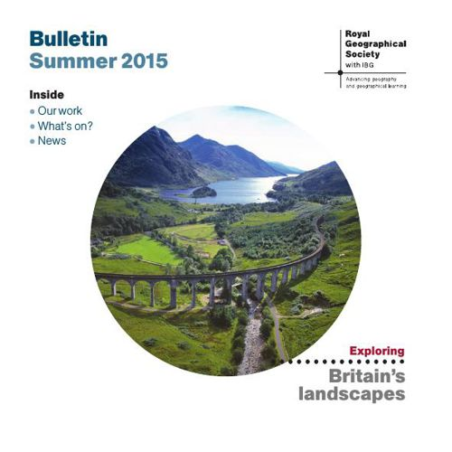 RGS-IBG Bulletin Summer 2015