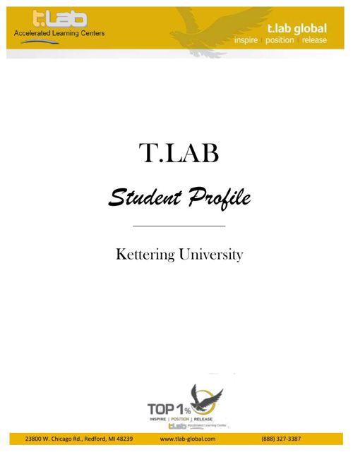 TLAB Student Profile- Kettering University 2017