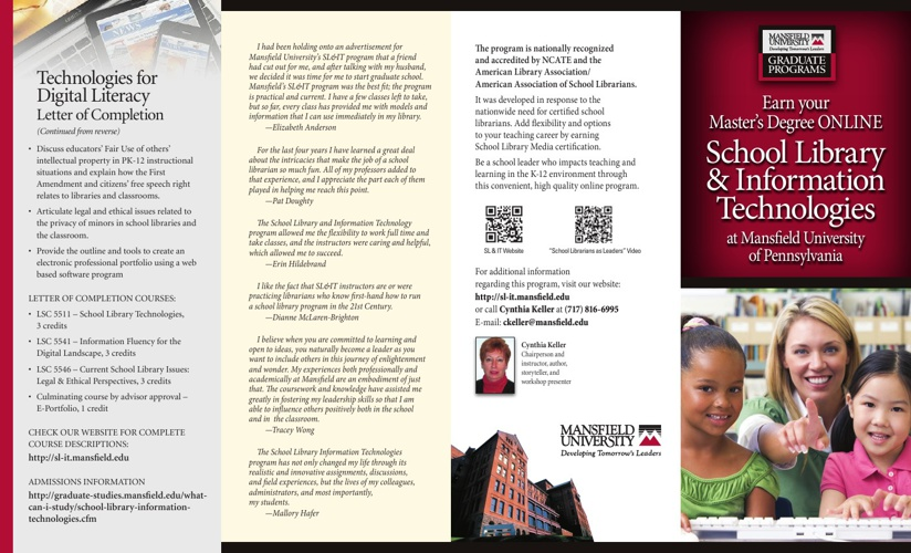 School Libraries & Information Technologies Brochure