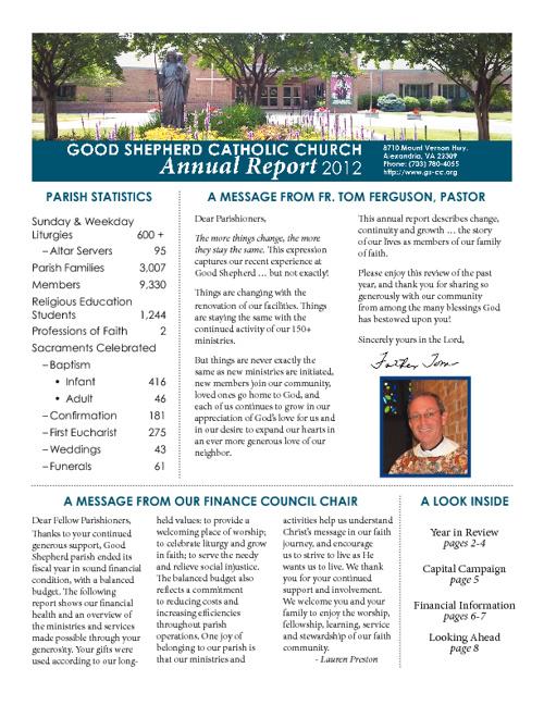 GSCC Annual Report 2012