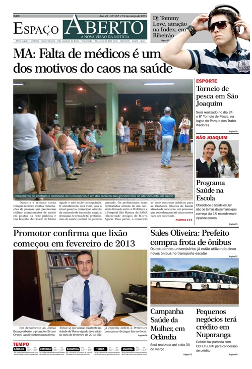 Jornal Espaço Aberto - Edição 357