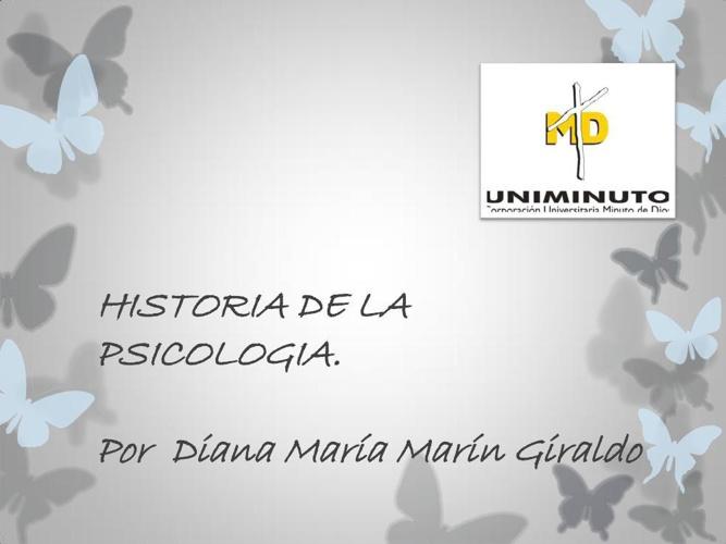 Copy of HISTORIA DE LA PSICOLOGIA