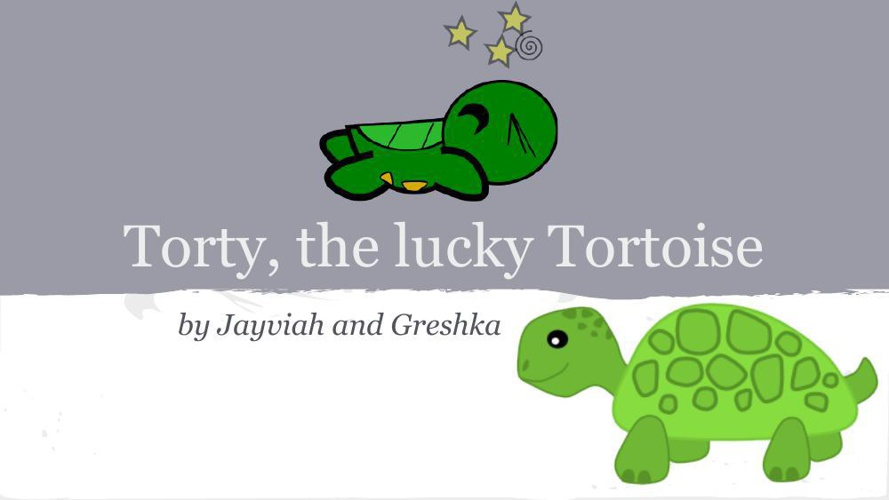 Torty, the lucky Tortoise