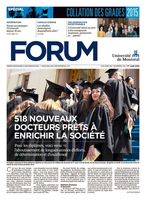 Forum - semaine du 1er juin 2015