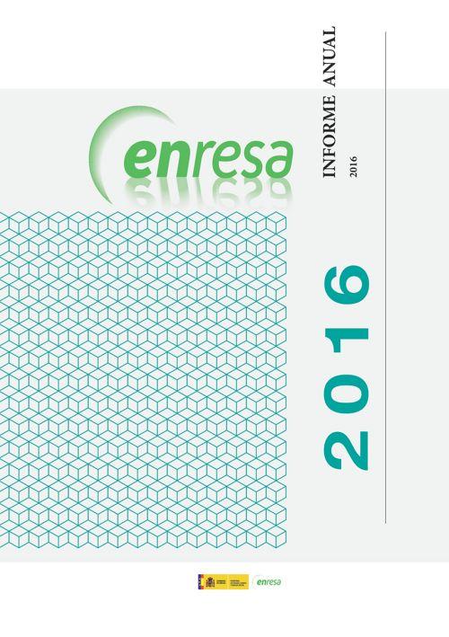 MEMORIA ANUAL 2016 ENRESA