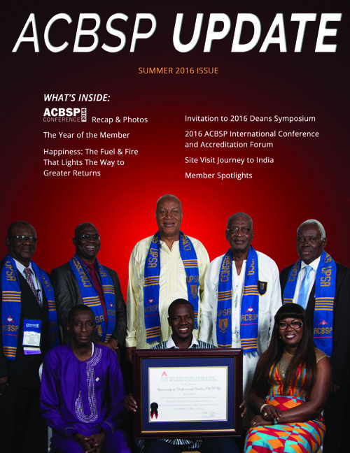 ACBSP Update: Summer 2016