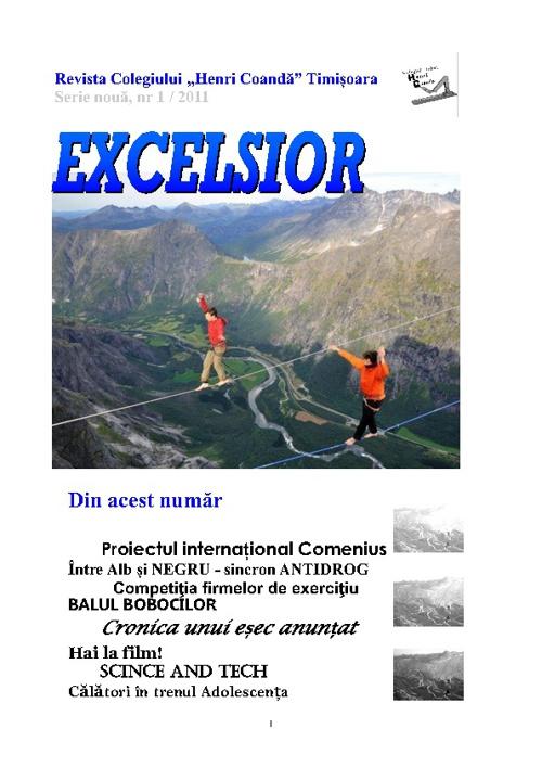 Revista Excelsior nr 1