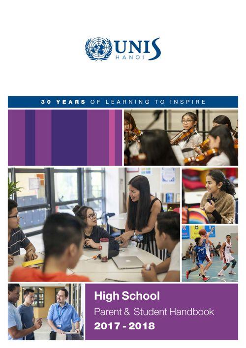 High School Parent & Student Handbook 2017-2018l