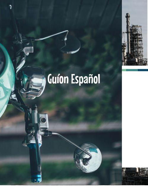 guion español