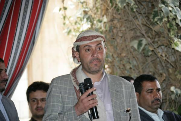 رئيس المؤتمر يستقبل ابناء عمران والاشمور (صور)