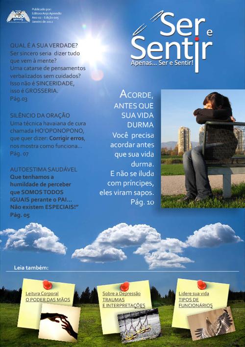 Revista Ser e Sentir - Edição Nº 5 - Janeiro 2012