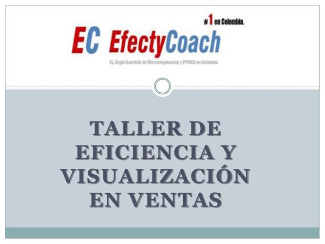 Taller de Eficiencia y visualización en ventas