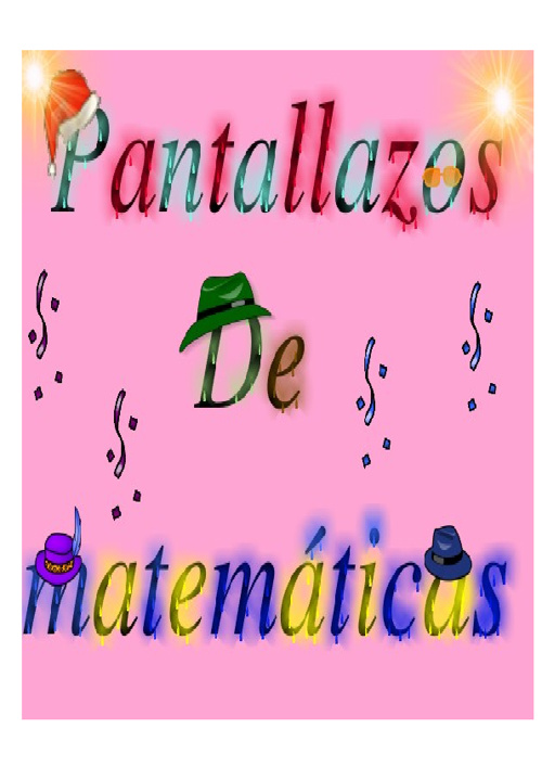 Pantallazos de matemáticas blogs.