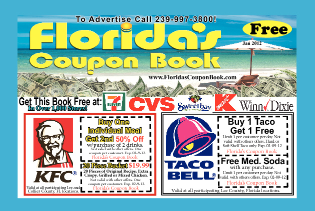 Interactive Floridas Coupon Book