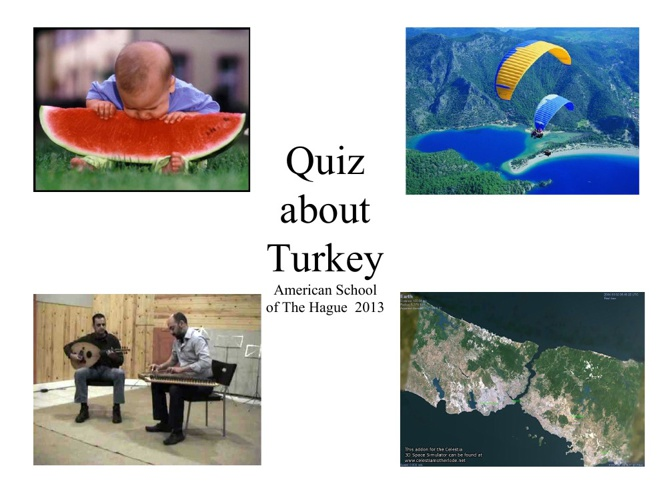 Quiz about Turkey