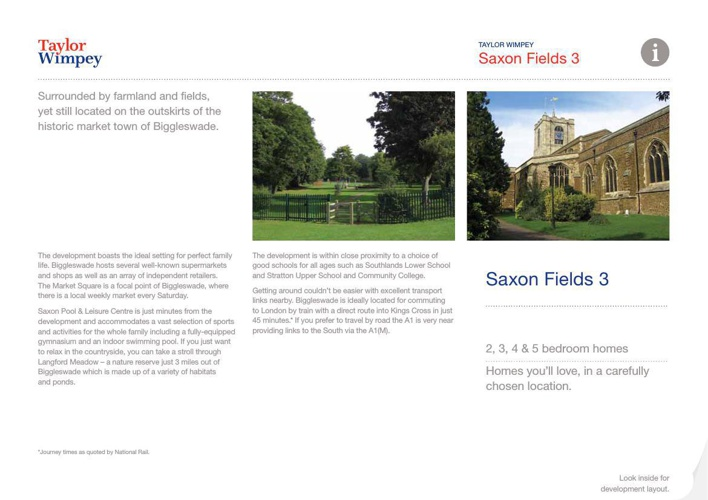 Saxon Fields Phase3  Brochure