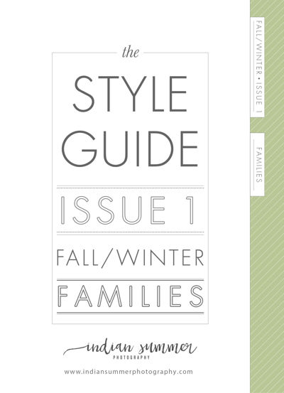 Indian Summer Photography Fall\Winter Style Guide