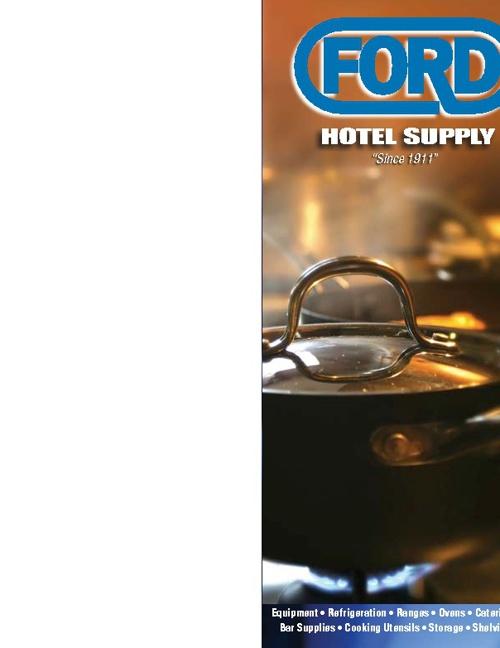 Ford Hotel Supply Catalog