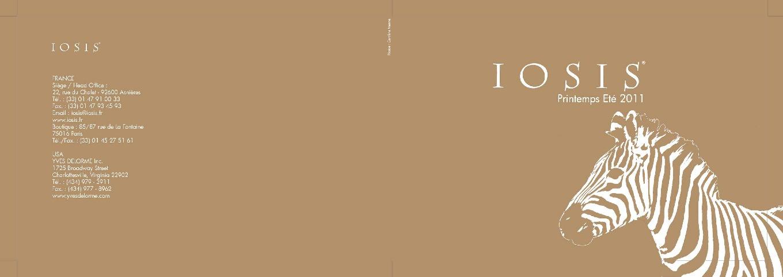 Spring-Summer 2011 IOSIS Catalog