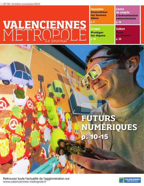 Valenciennes Métropole le Journal numéro 56