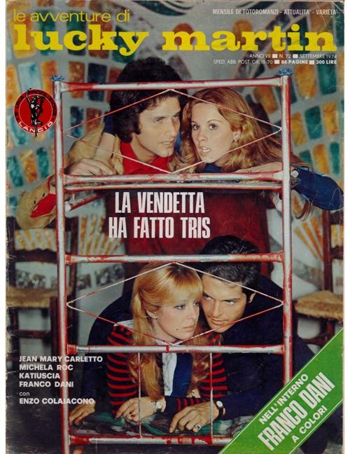 LUCKY MARTIN N. 72 (1974) - LA VENDETTA HA FATTO TRIS-2