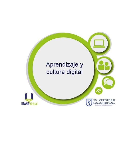 Aprendizaje y cultura digital