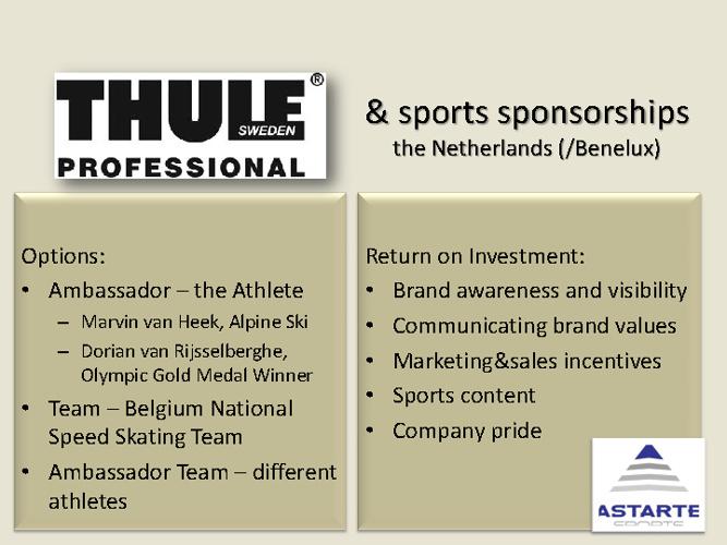 Thule & Astarte Sports