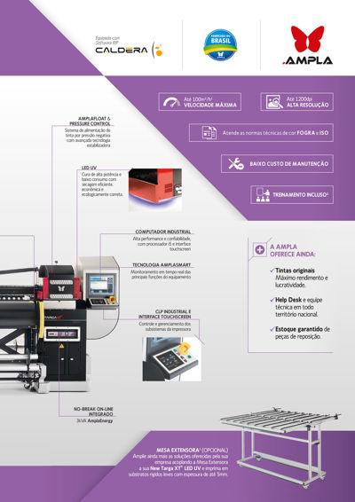 New Targa XT LED UV – A versatilidade do uv para sua empresa