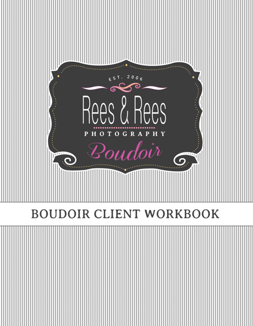 Rees & Rees Boudoir Photography Welcome Booklet
