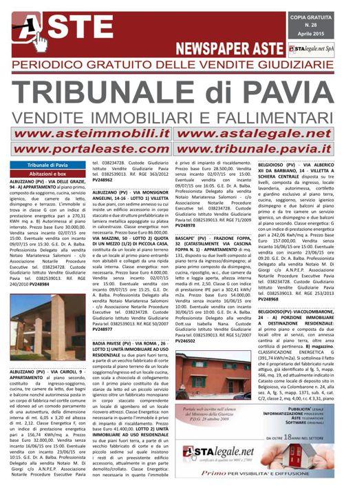 Pavia aprile 2015
