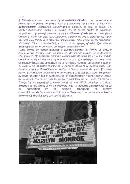 HISTORIA DE LAS PELICULAS