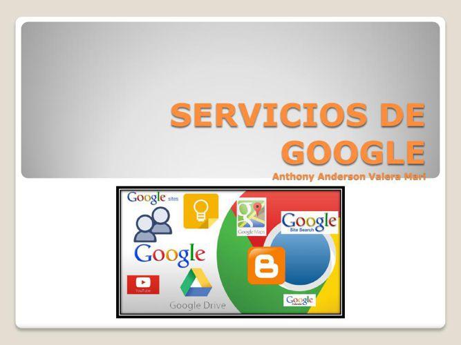 Valera servicios google