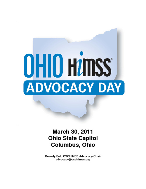 Ohio HIMSS Advocacy Day 2011