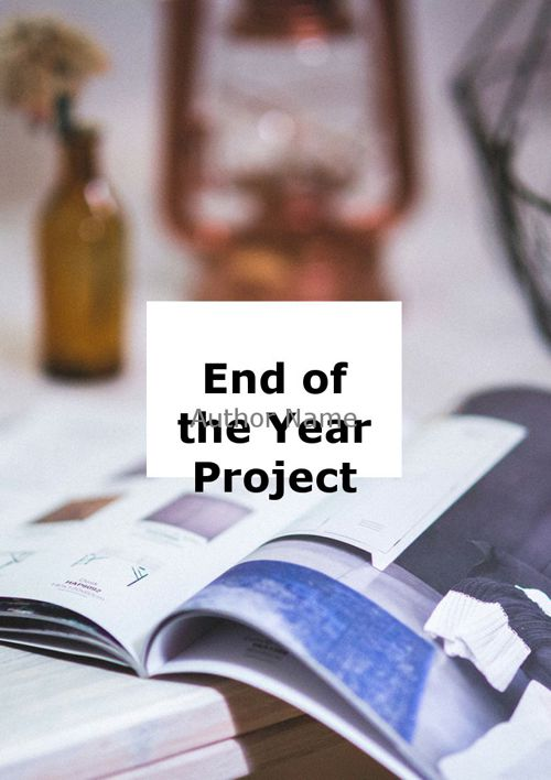 Zion's End of the Year Project