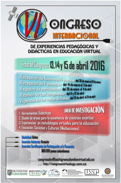 Cronograma de Ponencias VI Congreso de EPDEV 2016