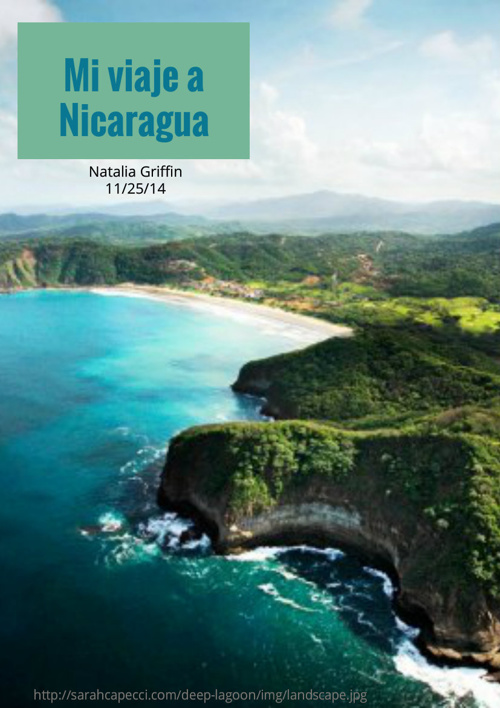 Mi Viaje a Nicaragua
