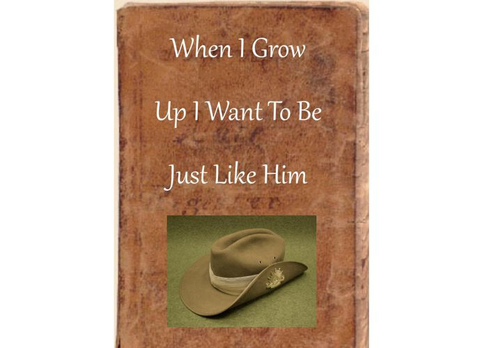 When I grow up want to be just like him #3 book