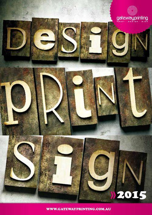 Gateway Printing Capability Brochure
