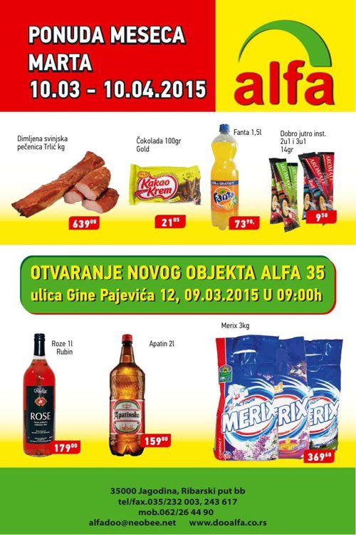 Akcijski Katalog Alfa