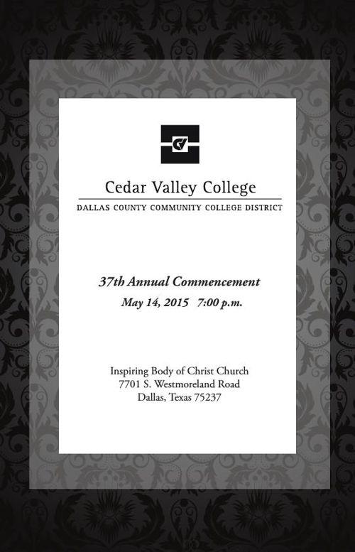 2015 Graduation Program[5-6-15]
