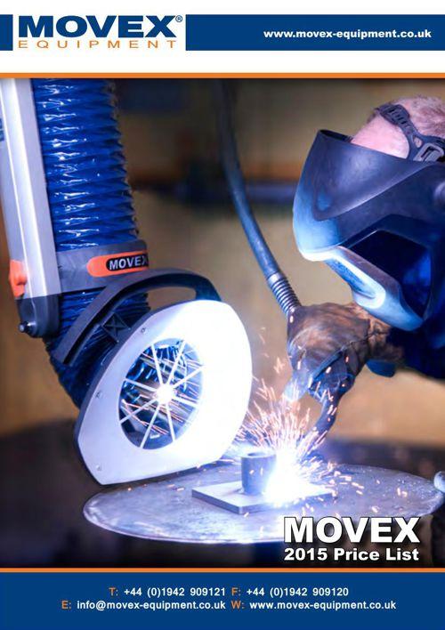 MOVEX Equipment 2015 Price List